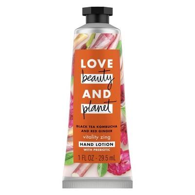 Love Beauty and Planet Vitality Zing Black Tea Kombucha & Red Ginger Hand Cream - 1oz