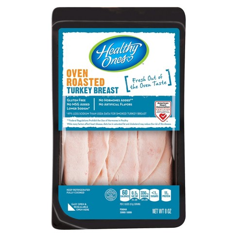 Healthy Ones Oven Roasted Turkey Breast Shingles Deli Meats - 8oz - image 1 of 1