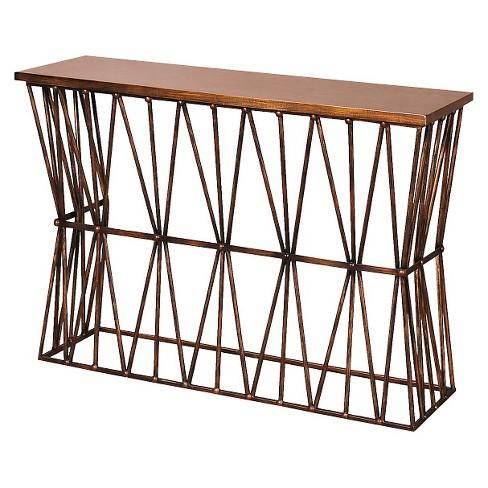 console table antique bronze stylecraft target