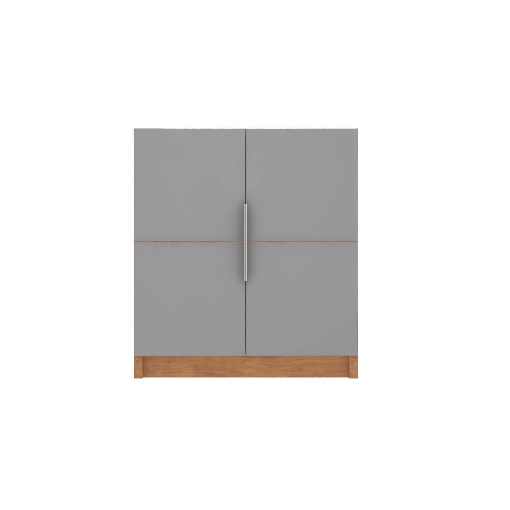 29 92 34 Cornelia Cabinet Gray Natural Manhattan Comfort