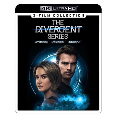 Divergent Series 3 Movie Collection (4K/UHD)