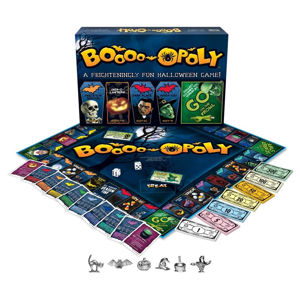 Booo opoly Halloween Game