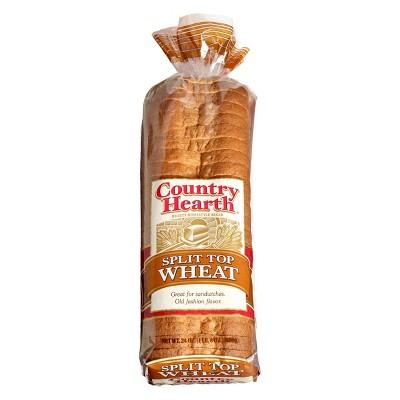 Country Hearth Split Top Wheat Bread - 24oz