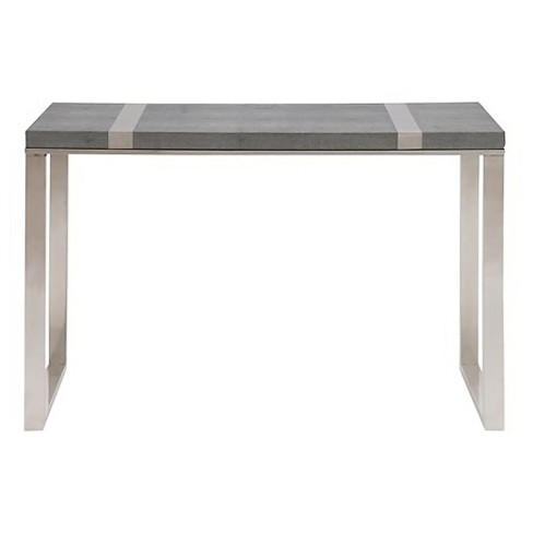 Console Table Gray - Benzara - image 1 of 1