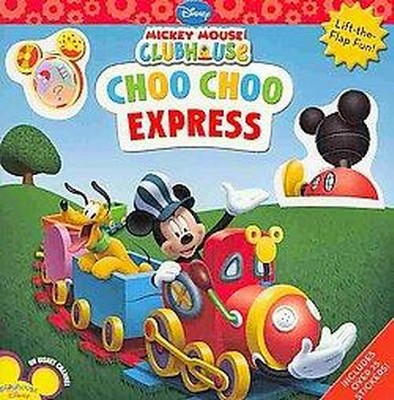 Mickey Mouse Clubhouse Choo Choo Express (Paperback)(Sharon Fass Yates)
