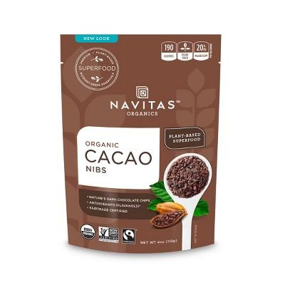 Nuts & Seeds: Navitas Organics Cacao Nibs