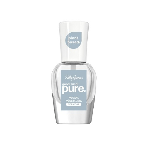 Sally Hansen Nail Polish good. kind. pure. 101 Top Coat - 0.33 fl oz - image 1 of 4