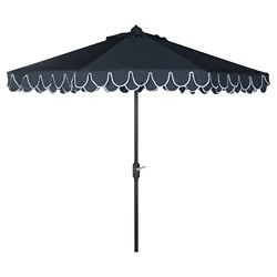 9' Elegant Valance Umbrella - Safavieh