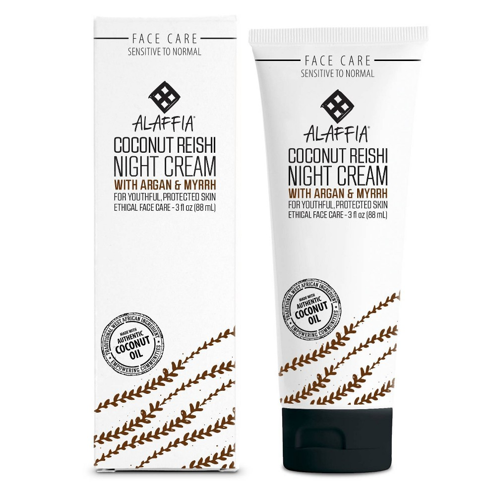 Image of Alaffia Coconut Reishi Night Cream - 3 fl oz