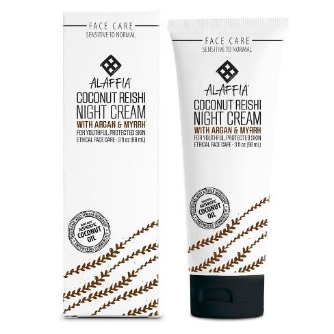 Alaffia Coconut Reishi Night Cream - 3 fl oz - image 1 of 4