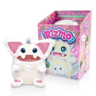 Rizmo Interactive Evolving Musical Plush Toy - Snow