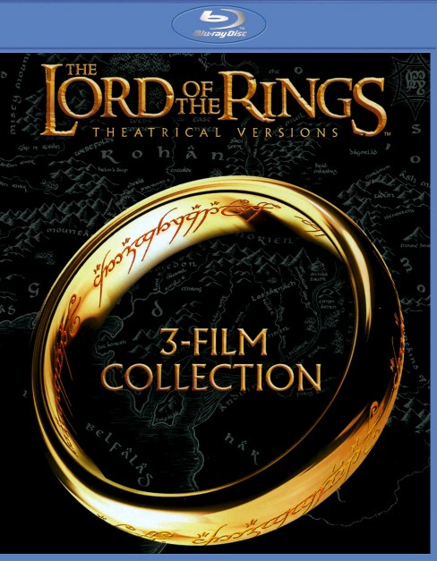 The Lord of the Rings: 3-Film Collection [Theatrical Versions] [Blu-ray] - image 1 of 1