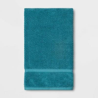 Performance Texture Bath Towel Turquoise - Threshold™