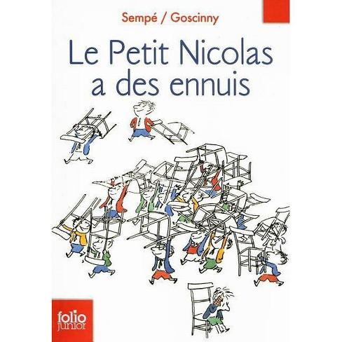 Le Petit Nicolas - (Folio Junior) by  Jean-Jacques Sempe & Rene Goscinny (Paperback) - image 1 of 1