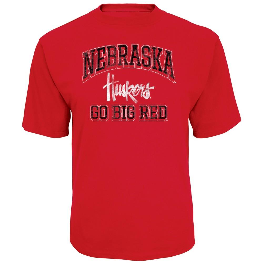 NCAA Men's Short Sleeve TC T-Shirt Nebraska Cornhuskers - L, Multicolored