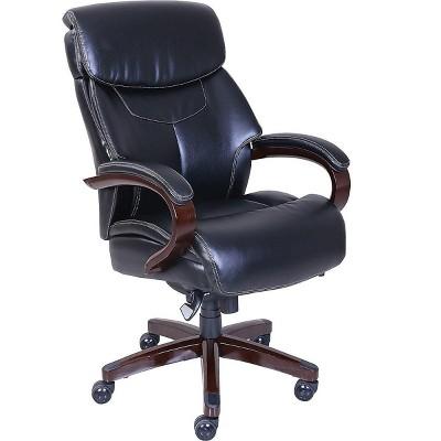 La-Z-Boy Bradley Bonded Leather Executive Chair Black (46089-CC) 46089CC