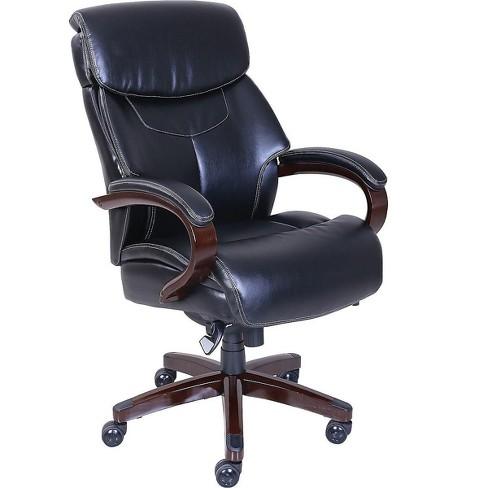 La-Z-Boy Bradley Bonded Leather Executive Chair Black (46089-CC) 46089CC - image 1 of 4