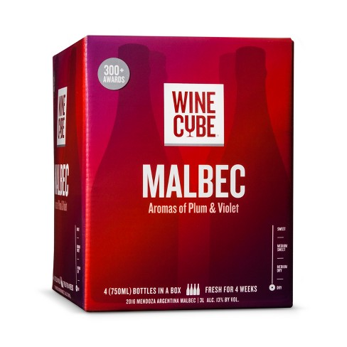 Malbec Red Wine - 3L Box - Wine Cube™ - image 1 of 2