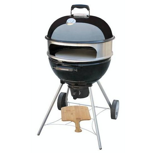 22 5 Kepler 350 Kettle Charcoal Grill 525142 With Pizza Kit Black Landmann