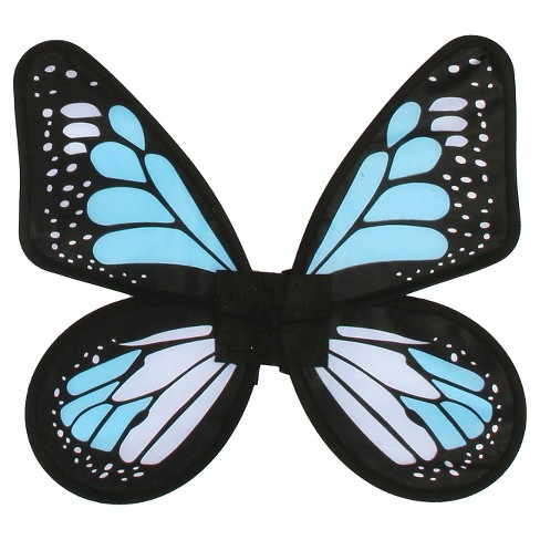 Satin Butterfly Wings Blue - One Size Fits Most - image 1 of 1