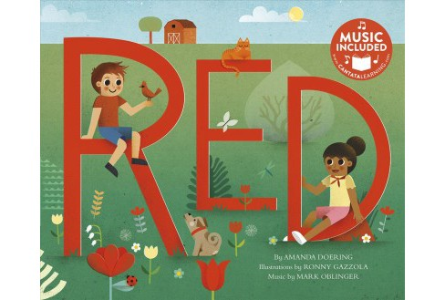 Red : Includes Music Download -  (Sing Your Colors!) by Amanda Doering (Paperback) - image 1 of 1