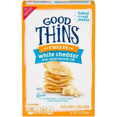Good Thins White Cheddar Potato Chips - 3.75oz - image 1 of 3
