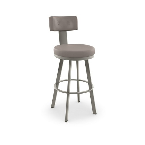 """Amisco Tower 30"""" Bar Stool with Upholstered Seat - image 1 of 2"""