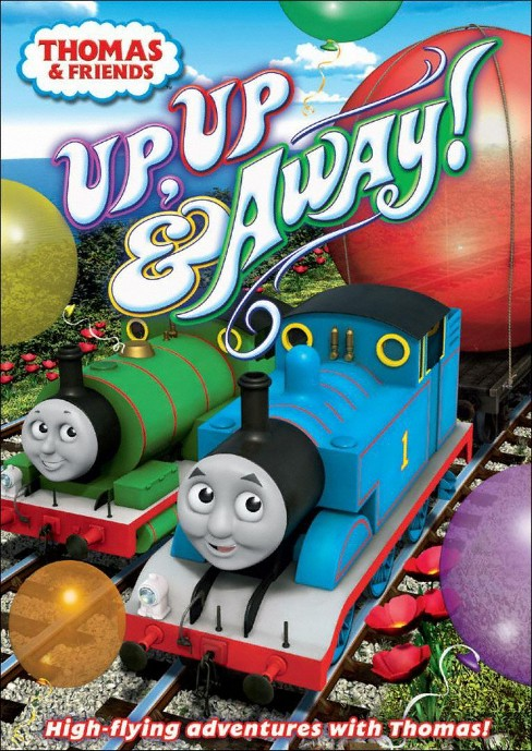 Thomas & Friends: Up, Up & Away! (dvd_video) - image 1 of 1