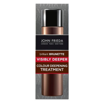 John Frieda Brilliant Brunette Visibly Deeper Colour Deepening Treatment - 4 fl oz