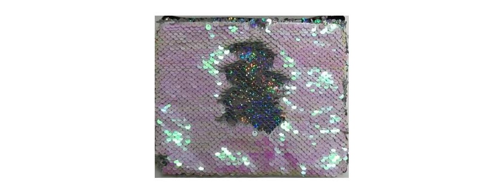 Image of Adore Reversible Sequin Bag - White
