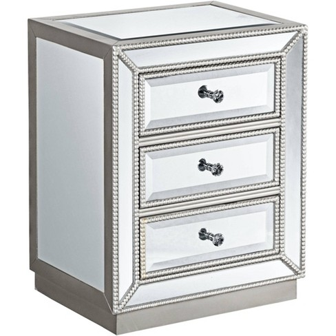 Coast To Trevi 20 Wide 3 Drawer, Target Mirror Table With Drawer
