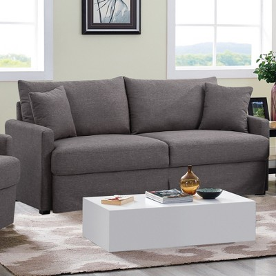 Boston Sofa Dark Grey   Lifestyle Solutions : Target