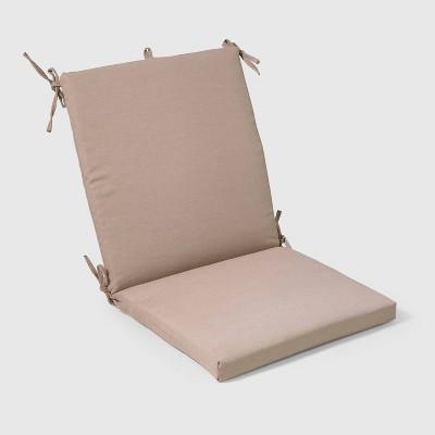 Outdoor Chair Cushion Tan - Threshold™