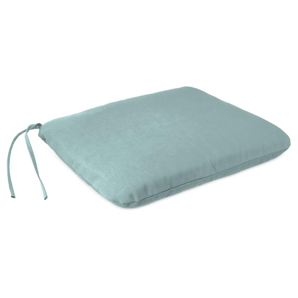 Outdoor Dining Seat Pad - Misty Waterfall - Jordan Manufacturing