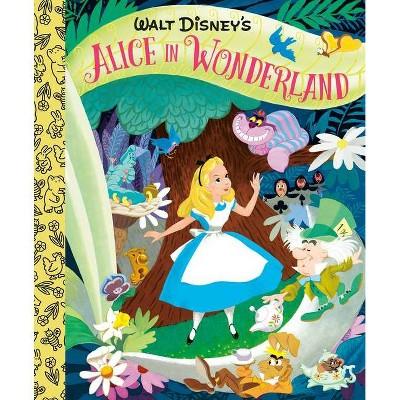 Walt Disney's Alice in Wonderland Little Golden Board Book (Disney Classic) - by  Random House Disney