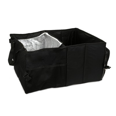 Turtle Wax 2 Section Trunk Organizer with Cooler