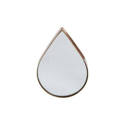 Gold Teardrop Wall Mirror - Foreside Home & Garden
