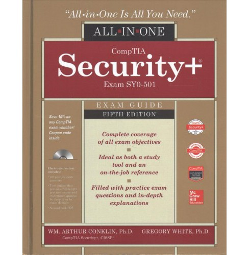 CompTIA Security+ All-in-One Exam Guide (Exam SY0-501) -  (Hardcover) - image 1 of 1