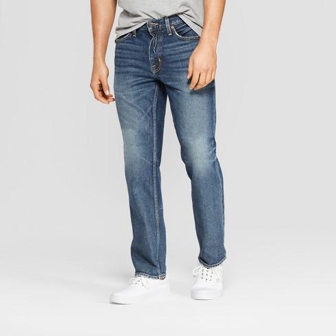 8da154d3 Men's Straight Fit Jeans - Goodfellow & Co™ Medium Vintage Wash : Target