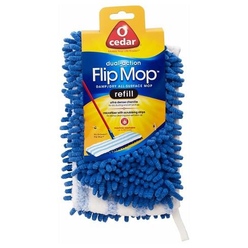 O Cedar Dual Action Flip Mop Refill Target