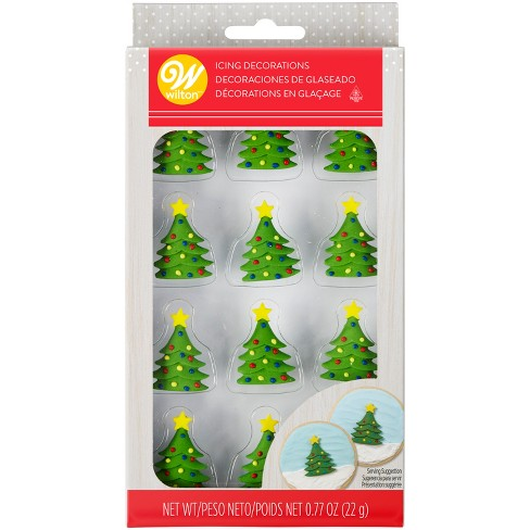 Wilton Tree Icing Decorations - 12ct/.77oz - image 1 of 3