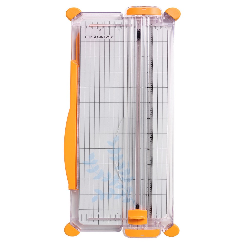 "Image of ""Fiskars SureCut Scrapbooking Paper Trimmer (12""""), White"""