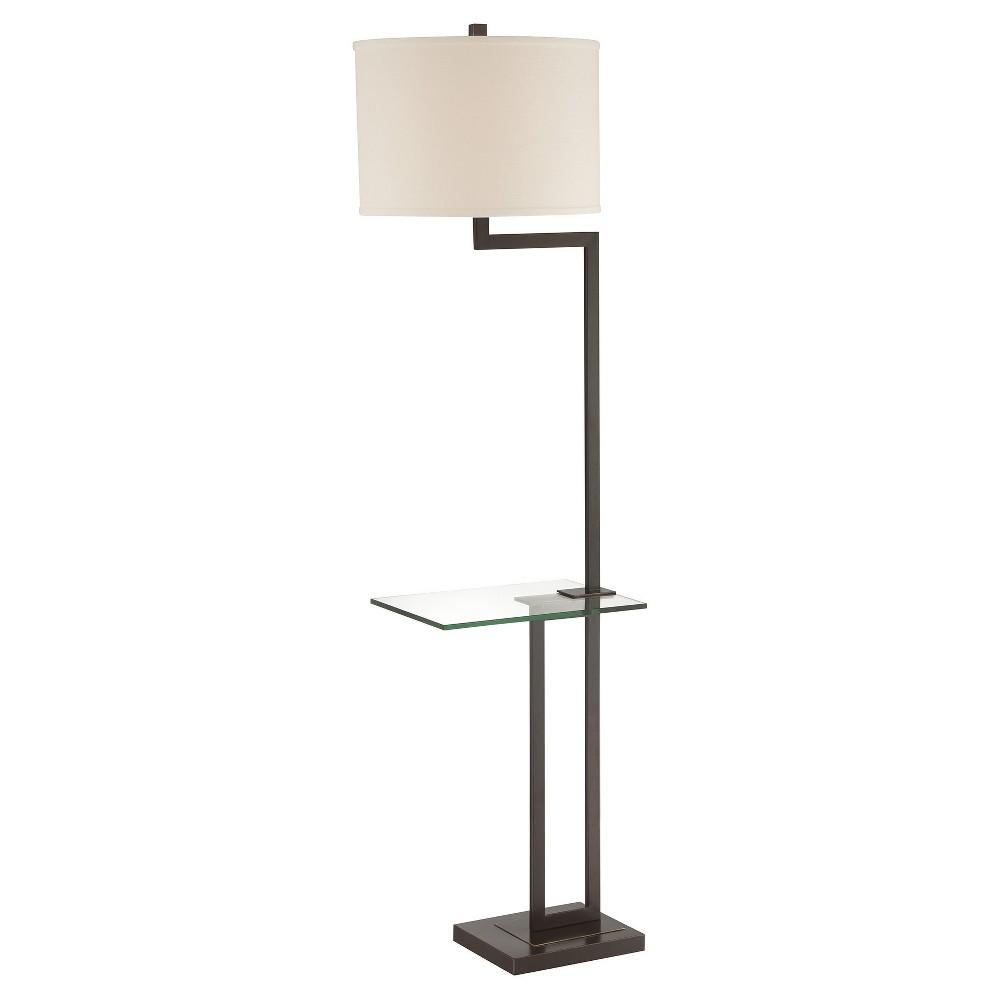 Image of 3-way Rudko Floor Lamp Dark Bronze (Includes Energy Efficient Light Bulb) - Lite Source