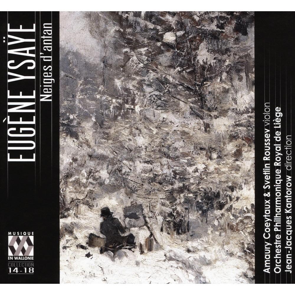 Orchestre Philharmon - Ysaye:Neiges D'antan (CD)