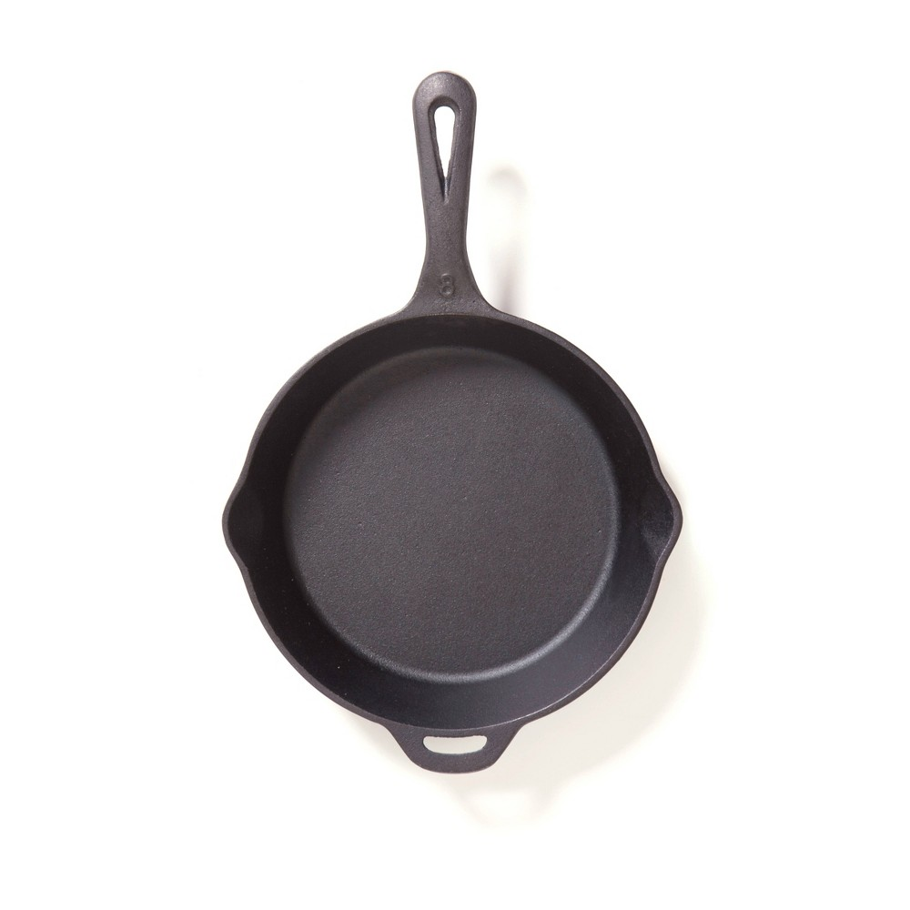 "Camp Chef 8"" Cast Iron Skillet - Black"