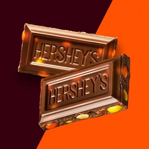 Hersheys Milk Chocolate With Reeses Pieces Candy Bar 155oz Target