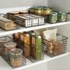 mDesign Metal Wire Food Storage Organizer Bin - image 3 of 4