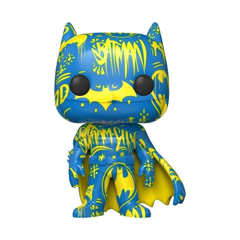 Funko POP! Heroes: DC - Batman Blue and Yellow (Artist Series) (Target Exclusive) - image 1 of 2