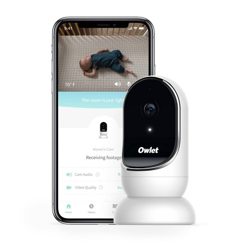 Owlet Cam Smart Baby Monitor - Secure, Encrypted HD Video from Anywhere, with Sound & Motion Notification - image 1 of 4