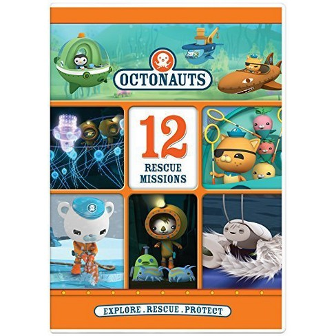 Octonauts: 12 Rescue Missions (DVD) - image 1 of 1